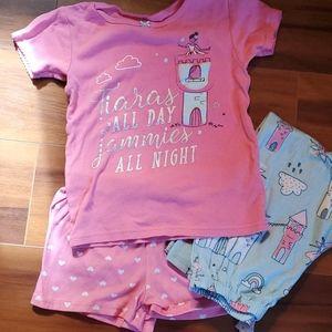 Princesses and unicorns pjs